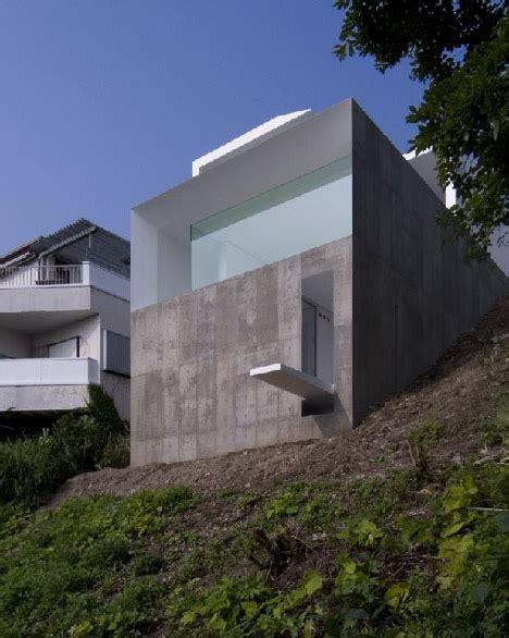 japanese modern cliff home urbanist