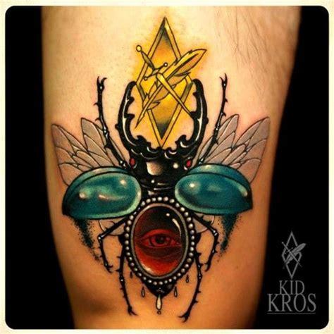 egyptian beetle tattoo 15 sacred scarab tattoos tattoodo