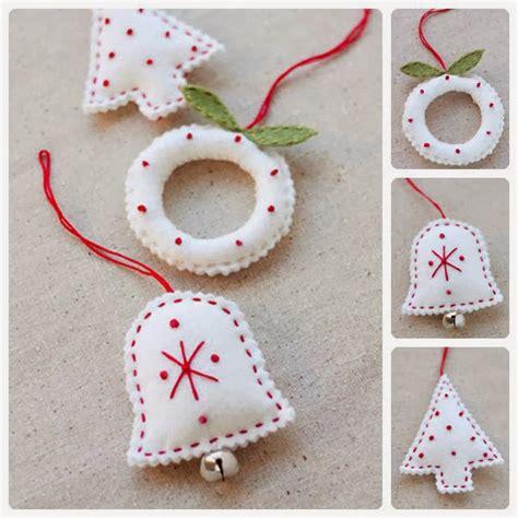imagenes navidad en fieltro 10 ideas para hacer tus adornos navide 241 os en fieltro