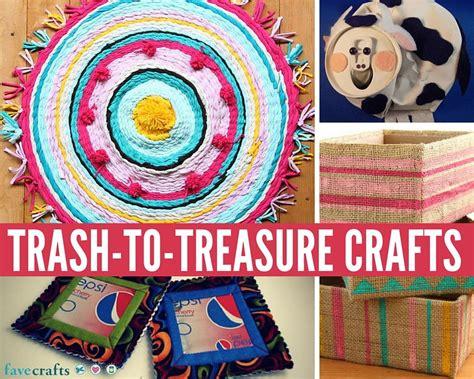 26 great trash to treasure crafts favecrafts com