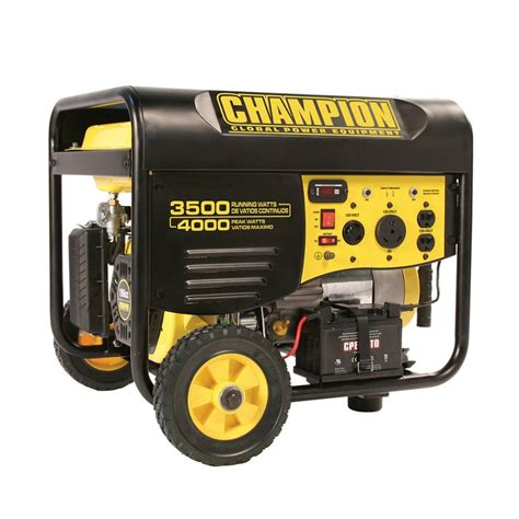 shop chion power equipment 3500 running watts portable