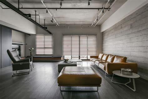 concrete apartments taiwanese apartment by aya living uses a beautiful mix of