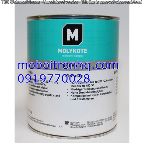 Molykote 41 Silicone Grease mỡ silicone molykote 55 o ring grease