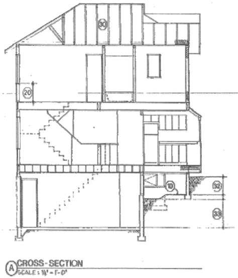 section elevation drawing simple house design with plan elevation and section joy