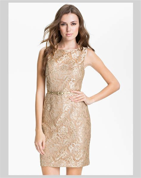 Gold Dress by Gold Dresses For The Holidays