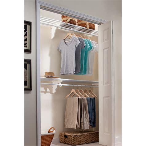 shop ez shelf 3 33 ft to 12 33 ft white adjustable mount