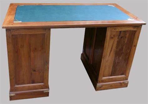 bureau en bois exotique bureau 224 caissons en bois exotique 6 tiroirs