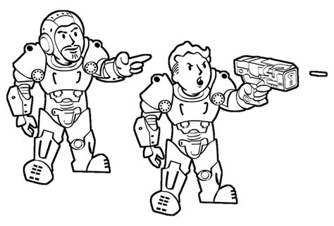 coloring pages fallout fallout 4 vault coloring pages fallout best free