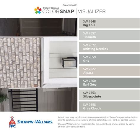 boral magnolia bay brick with gray mortar and coordinating colors with colorsnap 174 visualizer for