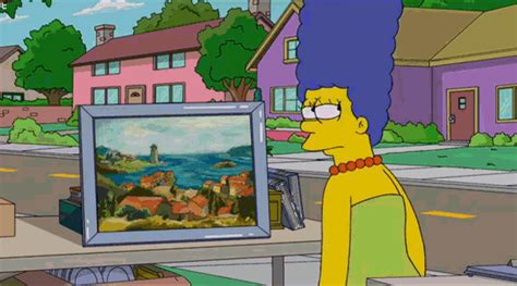 simpsons painting the simpsons discover the world