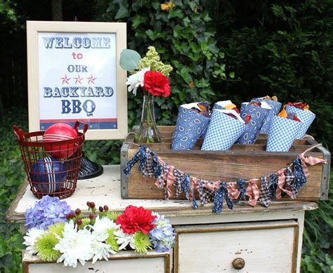 back yard barbque christmas 117 best 4th of july images on ideas patriotic and