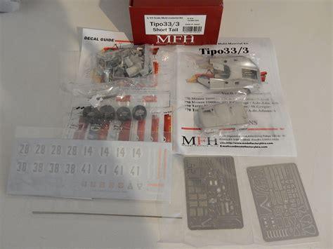 1 43 Scale 250gto Engine Techno Model Completed 2 mfh hiro kit alfa romeo 33 3 monza targa florio 70 modelart111