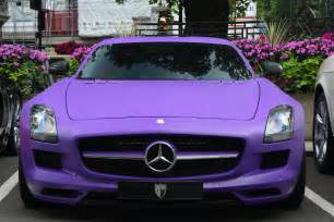 matte purple maserati mercedes sls amg matte purple only cars and cars