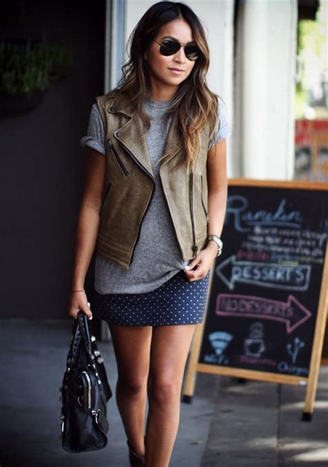 Mafia Fashion Caitlin Dowd by Leather And Polka Dots 25 Mini Skirts For