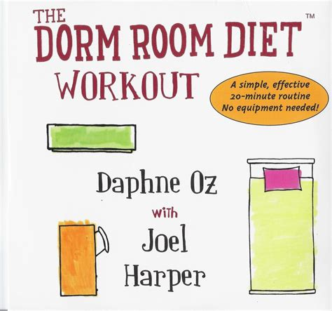 room diet health exercise collage
