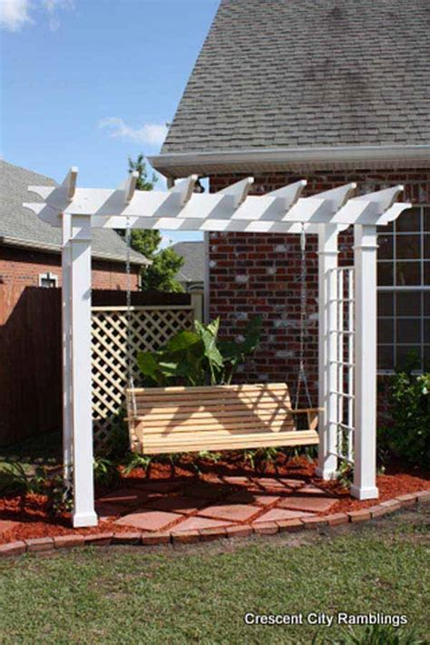 diy backyard pergola 24 inspiring diy backyard pergola ideas to enhance the