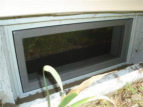 nice basement window screens 6 basement window