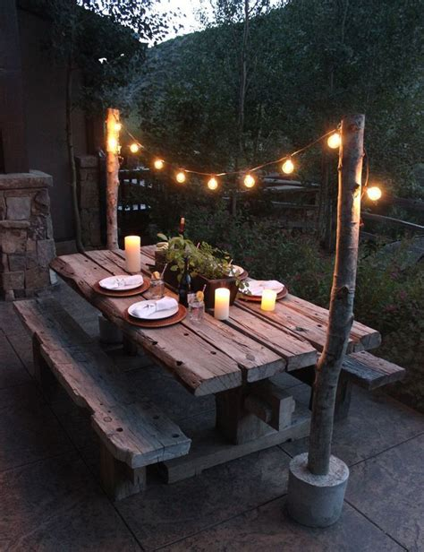 great ideas for creating a unique outdoor dining outd on