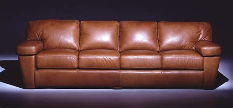 4 cushion sofa leather sofas prescott leather four cushion sofa