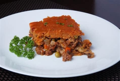 Healthy Cottage Pie Recipe by Healthy Comfort Food Cottage Pie With Sweet Potato Topping