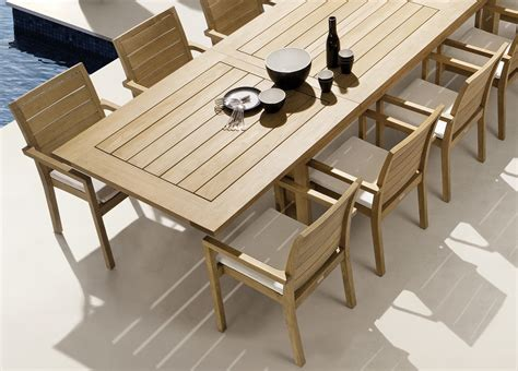 modern teak outdoor furniture how to care modern teak outdoor furniture bistrodre