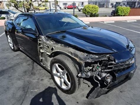 wrecked camaro 2012 chevrolet camaro 2lt wrecked repairable for sale