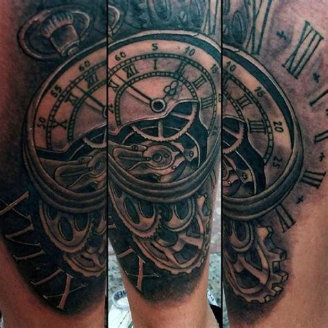 grandfather clock tattoo best 25 vintage clock tattoos ideas on