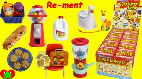 Rement Kitchen by Happy American Kitchen Re Ment Set Doovi