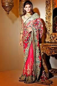 designer satya bridal wedding party wear sarees