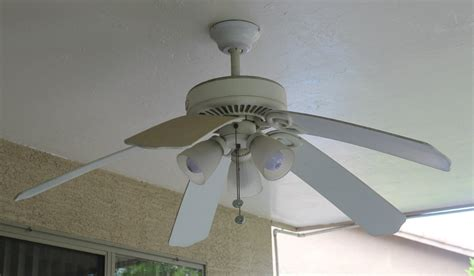 ceiling fan with fans as blades patio lighting ceiling fan makeover lowescreator