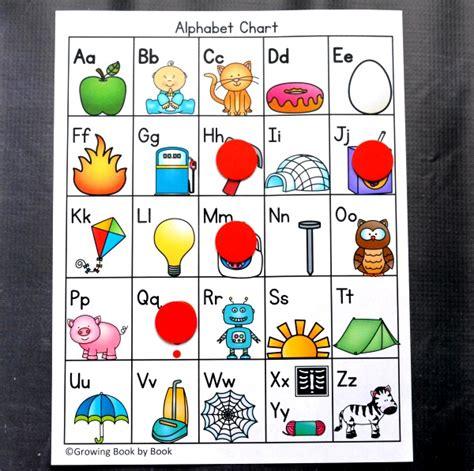 alphabet chart printable alphabet chart and 6 activities to do with it