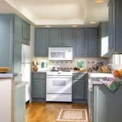 good Cream Color Kitchen Cabinets #6: medium_blue_kithcen_cabinets.jpg