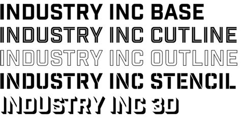industry inc font an invaluable typography toolbox