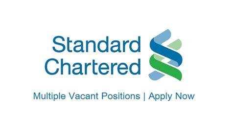 standard chartered bank standard chartered bank scb jobs aug 2017