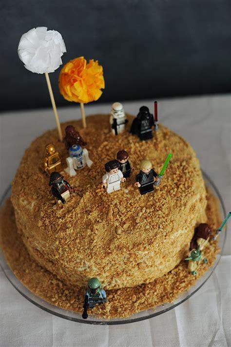 decorar tartas facil tarta de almendras de star wars para ni 241 os decopeques