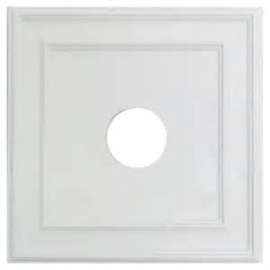polyurethane square ceiling medallion rona