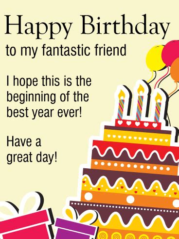 happy birthday to my friend cards template a day happy birthday card for friends wishing