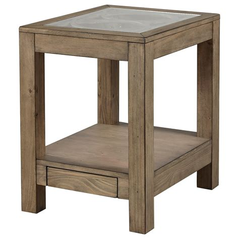 chair side table with power outlet highland court morris home chair side table with power