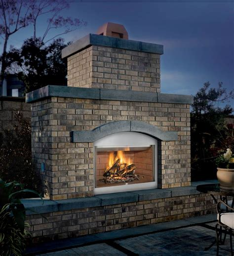 superior fmi tuscan outdoor wood burning fireplace hearth