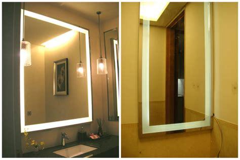 framed mirror with defogger for hotel defogging framed