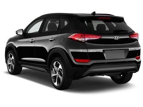 Image 2016 Hyundai Tucson Fwd 4 Door Limited Angular Rear Rear Exterior Doors