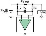 current sense resistor filter high side current sensing difference lifier vs current sense lifier analog devices