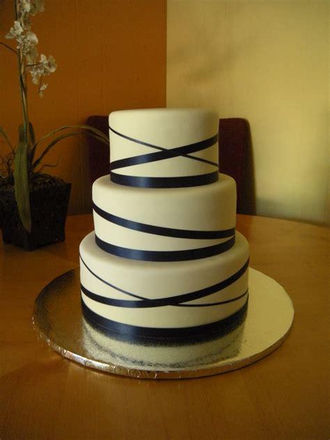 Wedding Cake Ribbon by Wedding Cake With Ribbon Made Custom Cakes