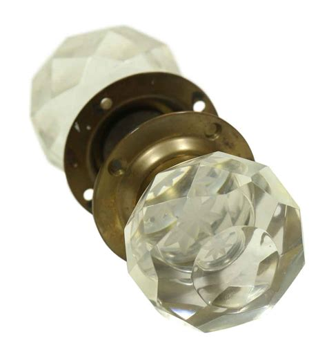 Cut Glass Door Knobs by Collector S Quality Cut Glass Knobs Olde Things