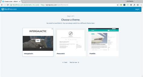 cara membuat wordpress free cara membuat blog wordpress cuma 5 menit pesona informatika