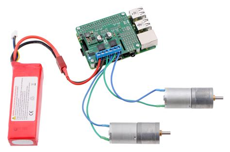 how to a motor with raspberry pi pololu dual mc33926 motor driver for raspberry pi assembled