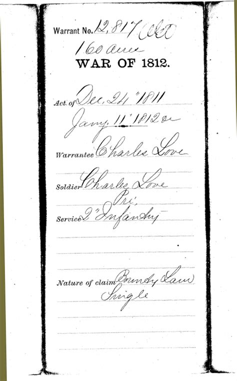 War Of 1812 Essay by These Records Are Courtesy Of Claudine Harding A Descendent In An E Mail To Susan Snyder