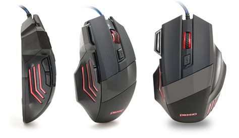 light up mouse plixio 7 button wired led light up gaming mouse 2400 dpi