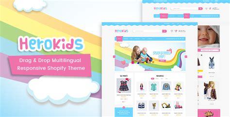 shopify themes multilingual herokids drag drop multilingual children kids shopify