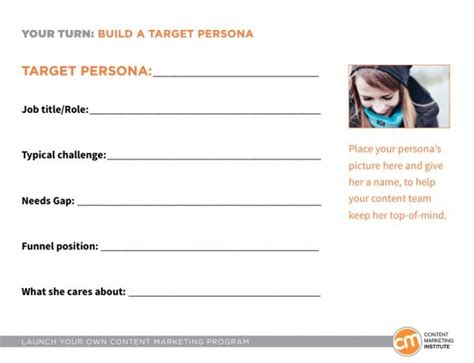 design persona template 15 tools and templates for and play content